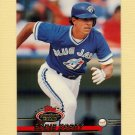 1993 Stadium Club Baseball #460 Eddie Zosky - Toronto Blue Jays