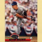 1993 Stadium Club Baseball #396 Kevin Brown - Texas Rangers