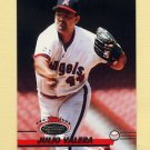 1993 Stadium Club Baseball #386 Julio Valera - California Angels