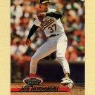 1993 Stadium Club Baseball #376 Joe Slusarski - Oakland A's