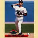 1993 Stadium Club Baseball #375 Esteban Beltre - Chicago White Sox
