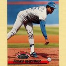 1993 Stadium Club Baseball #365 Pedro Martinez - Los Angeles Dodgers