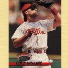1993 Stadium Club Baseball #339 Dave Hollins - Philadelphia Phillies