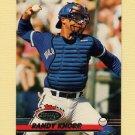 1993 Stadium Club Baseball #321 Randy Knorr - Toronto Blue Jays