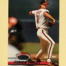 1993 Stadium Club Baseball #301 Chuck Finley - California Angels