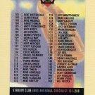 1993 Stadium Club Baseball #289 Checklist 101-200