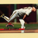 1993 Stadium Club Baseball #268 Stan Belinda - Pittsburgh Pirates