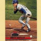 1993 Stadium Club Baseball #216 Brett Butler - Los Angeles Dodgers
