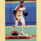 1993 Stadium Club Baseball #207 Andujar Cedeno - Houston Astros