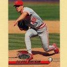1993 Stadium Club Baseball #199 Scott Ruskin - Cincinnati Reds