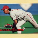 1993 Stadium Club Baseball #180 Mitch Williams - Philadelphia Phillies