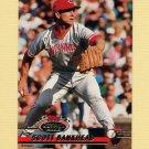 1993 Stadium Club Baseball #145 Scott Bankhead - Cincinnati Reds