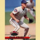 1993 Stadium Club Baseball #132 Doug Strange - Chicago Cubs