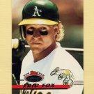 1993 Stadium Club Baseball #131 Eric Fox - Oakland A's