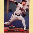 1993 Stadium Club Baseball #130 Mark Wohlers - Atlanta Braves