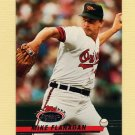 1993 Stadium Club Baseball #123 Mike Flanagan - Baltimore Orioles