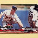 1993 Stadium Club Baseball #112 Scott Fletcher - Milwaukee Brewers