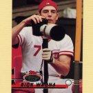 1993 Stadium Club Baseball #064 Rick Wrona - Cincinnati Reds