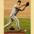 1993 Stadium Club Baseball #057 Kevin Seitzer - Milwaukee Brewers