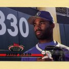 1993 Stadium Club Baseball #033 Brian McRae - Kansas City Royals