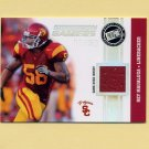2009 Press Pass Gridiron Gamers Jerseys Holofoil #GGRM Rey Maualuga - Bengals Game-Used Jersey /50