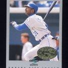 1997 Score Premium Stock Baseball #283 Michael Tucker - Kansas City Royals