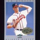1997 Score Premium Stock Baseball #089 Tom Glavine - Atlanta Braves