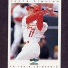 1997 Score Baseball #291 Royce Clayton - St. Louis Cardinals