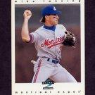 1997 Score Baseball #289 Mike Lansing - Montreal Expos