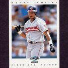 1997 Score Baseball #162 Manny Ramirez - Cleveland Indians