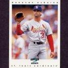 1997 Score Baseball #144 Donovan Osborne - St. Louis Cardinals