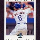 1997 Score Baseball #135 Carlos Baerga - New York Mets