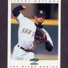1997 Score Baseball #036 Trevor Hoffman - San Diego Padres