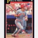 1991 Score Baseball #227 Paul O'Neill - Cincinnati Reds