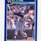 1991 Score Baseball #007 Will Clark - San Francisco Giants