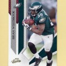 2009 Absolute Memorabilia Retail Football #074 Brian Westbrook - Philadelphia Eagles