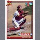 1991 Topps Baseball #767 Dan Wilson RC - Cincinnati Reds