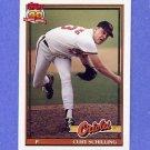 1991 Topps Baseball #569 Curt Schilling - Baltimore Orioles NM-M