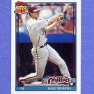 1991 Topps Baseball #545 Dale Murphy - Philadelphia Phillies