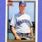 1991 Topps Baseball #482 Tino Martinez - Seattle Mariners