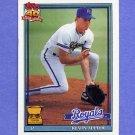 1991 Topps Baseball #454A Kevin Appier - Kansas City Royals ERROR