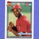 1991 Topps Baseball #113 Carl Everett RC - New York Yankees