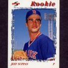 1996 Score Baseball #500 Jeff Suppan - Boston Red Sox