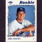 1996 Score Baseball #492 Mike Sweeney RC - Kansas City Royals