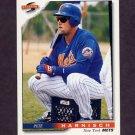 1996 Score Baseball #456 Pete Harnisch - New York Mets