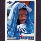 1996 Score Baseball #446 Delino DeShields - Los Angeles Dodgers