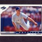 1996 Score Baseball #396 Andy Pettitte - New York Yankees