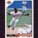 1996 Score Baseball #393 Manny Alexander - Baltimore Orioles