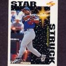 1996 Score Baseball #369 Raul Mondesi SS - Los Angeles Dodgers