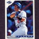 1996 Score Baseball #355 Eric Karros - Los Angeles Dodgers